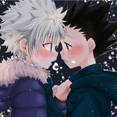 #killua #killuazoldyck #gon #gonfreecss #killugon #gonkillu #gonkillua #hxh #hunterxhunter #hunterxhunter2011 #yaoi #kiss #kawaii #bl #shounenai