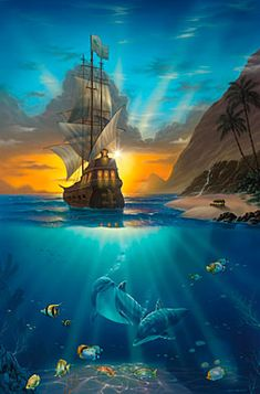 Pirates Paradise - Jeffrey Michael Wilkie
