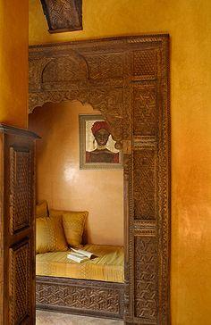 La Sultana Marrakech, Luxury Hotel in Marrakech, Morocco Moroccan Design, Moroccan Decor, Design Marocain, Indian Doors, Interior And Exterior, Interior Design, Interior Door, Small Luxury Hotels, Moroccan Interiors