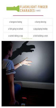 Flashlight finger ch