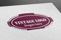 Vintage Logo by BdThemes on @creativemarket