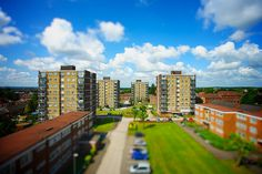 Leamore Flats Tiltshift Staffordshire Uk, Walsall, My Town, Seattle Skyline, Flats, Explore, Country, Travel, Loafers & Slip Ons