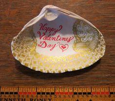 Original OOAK Gift Zentangle Sea Shell Art - Valentine's Day Love Romantic by DesignsbyStarla