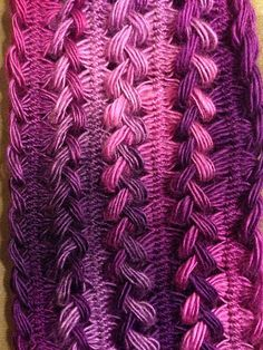 Ravelry: gracykinzz's Grace's Braided Hairpin Lace Scarf