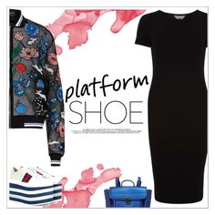 """""""Platform shoes ✨"""" by ghada-a ❤ liked on Polyvore featuring Dorothy Perkins, 3.1 Phillip Lim, Markus Lupfer and Gucci"""