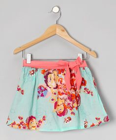 Take a look at this Eddie & Stine by Eddie Bauer Yucca Hydrangea Skirt - Toddler & Girls on zulily today!