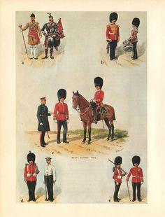 British; Scots Guards 1912 by R.Simkin