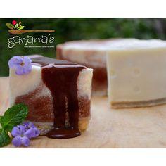CHEESE CAKE MARMOLEADO SIN HORNO (Choco+vainilla)  una opción que todos los #cheesecakelovers y #chocolovers tienen que probar divino, alto en proteína, apto para disfrutar en la cena y económico y con ingredientes accesibles