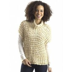 Cowl Vest....crochet, but something to think about....