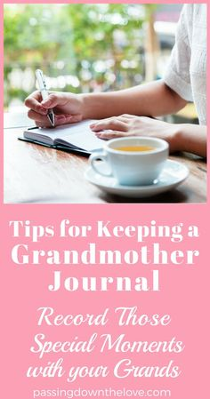 Keeping a Grandmother Journal is a great way to keep memories around for your Grandchildren long after you're gone. Write it down and remember! New Grandparent Gifts, New Grandparents, First Time Grandma, New Grandma, Grandma Names, Grandma Quotes, Sister Quotes, Daughter Quotes, Mother Quotes