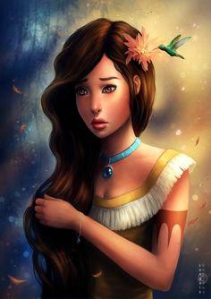 Disney Pocahontas by sanguisGelidus on @deviantART