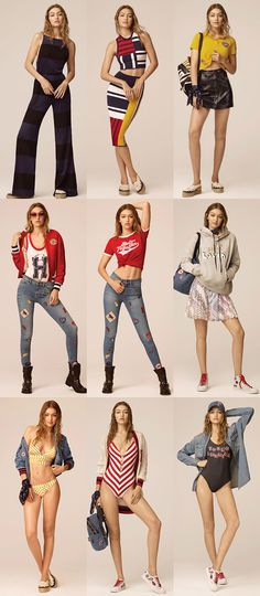 Gigi Hadid e a divulgação da nova coleção para a marca Tommy Hilfiger!