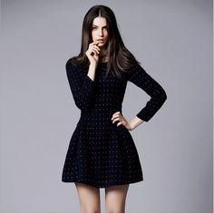 vestidos de inverno 2015 manga compridA - Pesquisa Google