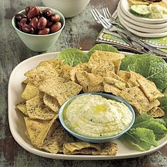 Healthy Appetizer Recipes | Southwest White Bean Spread | SouthernLiving.com recipes