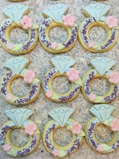 Engagement Cookie Engagement Cookies, Fondant Cookies, Sweet Tooth