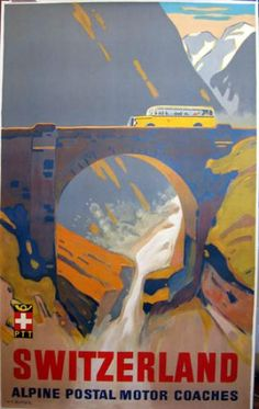 Swiss Vintage Poster