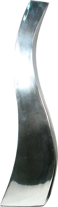 Artikeldetails:  Blumenvase aus Aluminium, Blumenvase aus Aluminium, Farbe: Silber,  Maße:  Maße (B/T/H): 8/14/60 cm, 8/12/50 cm oder 7/11/40 cm,  ...