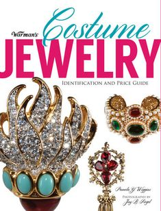 From disposable bauble to collectible art form!    Stylish and beautiful, vintage costume jewelry ignites the passions ofcollectors and fashionistas alike. Originally created as an inexpensiveaccessory to be worn and then discarded, costume jewelry is now considered anart form worth many times its original purchase price!    Warman's Costume Jewelry sparkles with wearable art creating during the past100 years, spanning the Victorian era through the early part of the 21stcentury. Dazzling… Vintage Jewelry Crafts, Vintage Costume Jewelry, Vintage Costumes, Antique Jewelry, Silver Jewelry, Vintage Jewellery, Silver Earrings, Jewellery Shops, Silver Ring