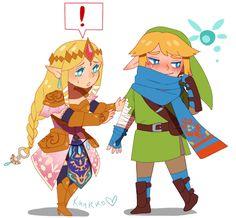 "kaurro:  "" Hyrule Warriors Cuties  """