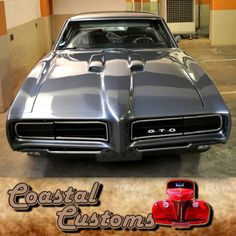 Street Custom Culture, 1968 Pontiac GTO! The 1960's in the United States was undoubtedly marked with a distinct counter culture and brazen rebellion particularly among the youth in America. To read more click here: http://besociable.link/AO #1968PontiacGTO #customcars