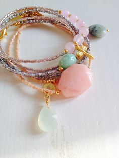 New Collection SOOSjewelry - fine bohemian jewelry. Goldplated & Gemstones