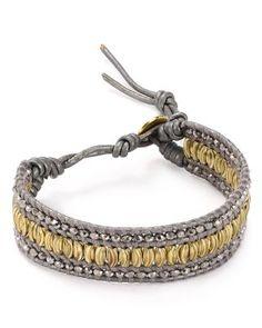 Chan Luu Gray Leather Bracelet   Bloomingdale's