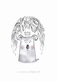 Darmowe PLAKATY do pokoju dziecięcego do druku - MISIE | dobrze narysowane... Bear Cartoon, Baby Room, Snoopy, Teddy Bear, Clip Art, Printables, Posters, Abstract, Fictional Characters