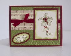 Stampin Up Stampin Up Christmas Cards
