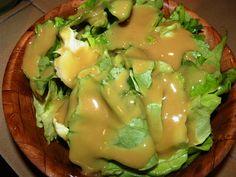 Vegyes saláta: Fejes saláta mustáros öntöttel Guacamole, Mexican, Eggs, Breakfast, Ethnic Recipes, Food, Morning Coffee, Essen, Egg