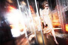 light and color Blur Photography, High Fashion Photography, Fashion Photography Inspiration, Photography Ideas, Fashion Editorial Makeup, Fashion Shoot, Fashion Portraits, Nathalia Vodianova, Conceptual Fashion