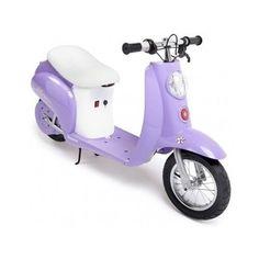 Razor Pocket Mini Moped Electric Scooter Purple Girls Motor Bike Mod Dirt Cycle #Razor
