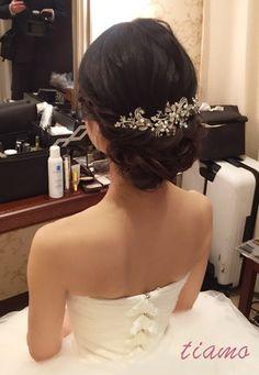 感動のファーストミートから始まる美人花嫁さまの素敵な一日♡ | 大人可愛いブライダルヘアメイク 『tiamo』 の結婚カタログ