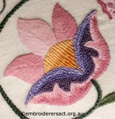 bullion stitch - Embroiderers' Guild ACT | Page 2