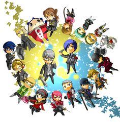 Persona 3 and 4