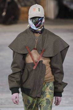 Walter Van Beirendonck FALL 2017 Walter Van Beirendonck, Fashion Mask, Fall, Fashion Design, Inspiration, Clothes, Style, Autumn, Biblical Inspiration