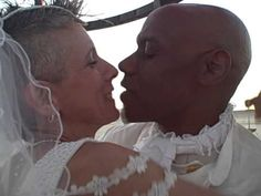 Love is in the air at this Burning Man wedding. #brc2010