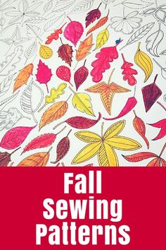 Fall Sewing Patterns Start on some cosy projects with these great Fall sewing patterns - a guest post from Annabelle of Wunderlabel.