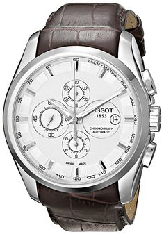 Tissot Men s Couturier Automatic Chronograph Watch - T0356271603100.  FOURNIER · Montre 7836669bad