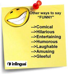 "What's so ""FUNNY""?  http://www.inlinguabangalore.com/english-classes-in-bangalore #EnglishClass #SpokenEnglish"