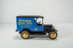 Vintage Die-Cast Bank 1923 Chevrolet Delivery by PickingPittsburgh