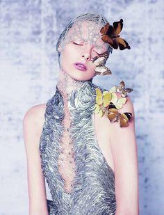 Dazed Digital   EXCLUSIVE FILM: Butterfly by Alexandros Pissourios