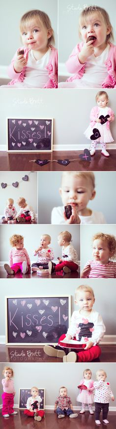 5 little valentines #photography #studiobritt #toddler #valentinesday