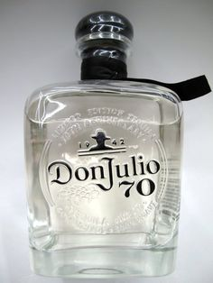 Don Julio 70 Añejo Claro Tequila is a truly unique product that redefines the Añejo tequila category by embodying the rich, complex flavor of a traditional Agave Añejo in a liquid that is filtered to become a clear spirit. Tequila Don Julio 70, Liquor Bottles, Perfume Bottles, White Oak Barrels, Agave Plant, Liquor Store, Bourbon Whiskey, Bottle Design, Distillery
