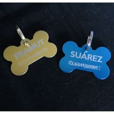 Gotta Love 'em : Pet Tags - ensure your pet's safety. Bone, Oval and Pawprint in various colours.
