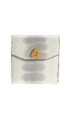 Alexander Wang snakeskin wallet on sale? yes please!