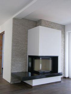 Spartherm : Varia design and build : De Carina - fireplaces Modern Fireplace, Fireplace Design, Living Room Interior, Home Interior Design, Internal Design, Living Room Designs, Home Improvement, New Homes, Architecture