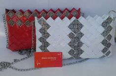Modular Origami, Handmade Purses, Candy Bags, Purses And Bags, Diy Bags, Paper Bags, Gifts, Paper Purse, Coin Wallet