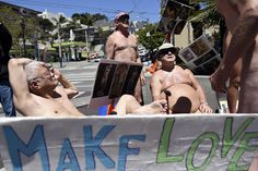 """A nude parade meant to celebrate the ideology and values of the """"Summer of Love"""" is set to march through San Francisco on Saturday, May 20."""
