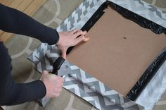 """How To: Easy DIY Folding Chair Makeover """"metal"""", """"Sewing & Upholstery"""", """"chairs"""", """"Curbly-Original"""", """"thanksgiving""""] Folding Chair Makeover, Kids Folding Chair, Folding Chair Covers, Metal Folding Chairs, Metal Chairs, Wood Chairs, Card Table And Chairs, Table Cards, Outdoor Lounge Chair Cushions"""
