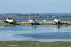 Beached hull houseboats on Hayling Island, UK Hampshire Uk, Floating House, Portsmouth, Battleship, Island Life, British Isles, Wonderful Places, The Locals, Britain